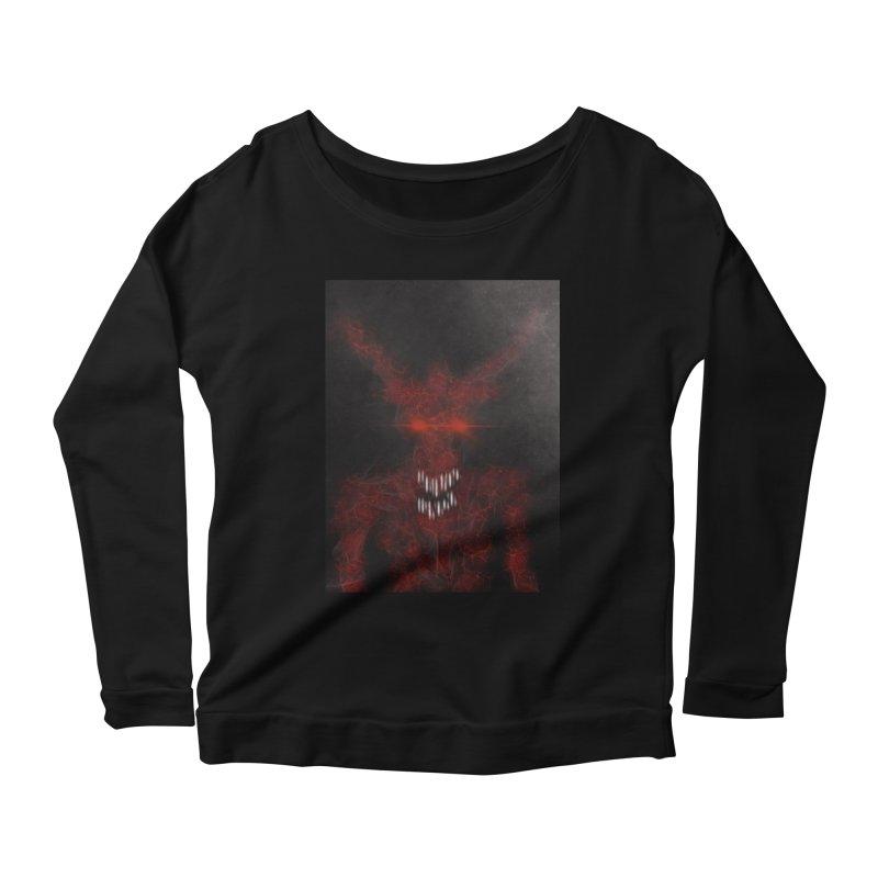 EVIL Women's Scoop Neck Longsleeve T-Shirt by artbombtees's Artist Shop