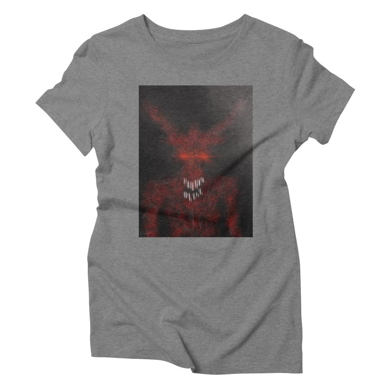 EVIL Women's Triblend T-Shirt by artbombtees's Artist Shop