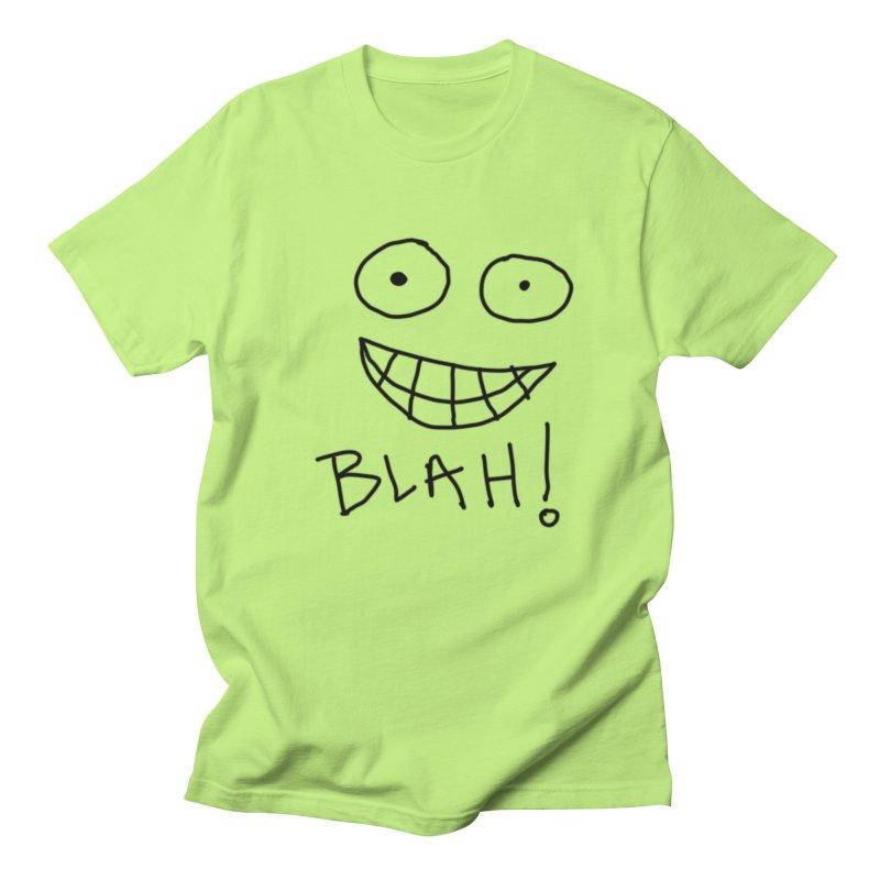 Blah! Men's T-Shirt by artbombtees's Artist Shop