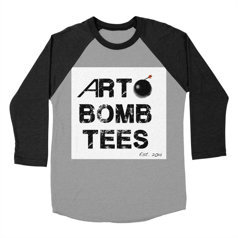 Art Bomb Tees Logo Shirt Men's Longsleeve T-Shirt by artbombtees's Artist Shop