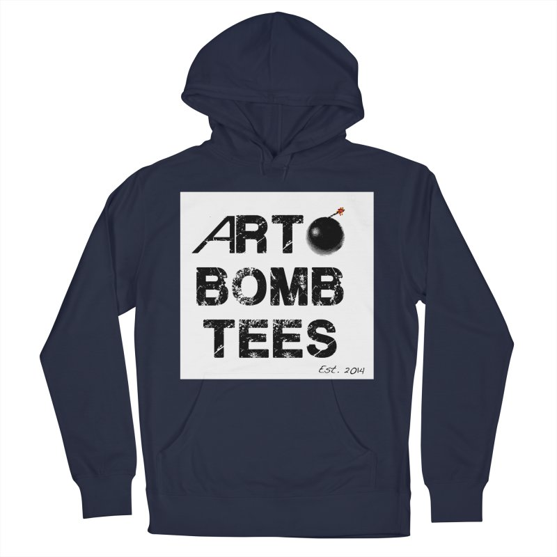 Art Bomb Tees Logo Shirt Women's French Terry Pullover Hoody by artbombtees's Artist Shop