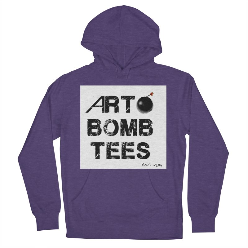 Art Bomb Tees Logo Shirt Men's French Terry Pullover Hoody by artbombtees's Artist Shop