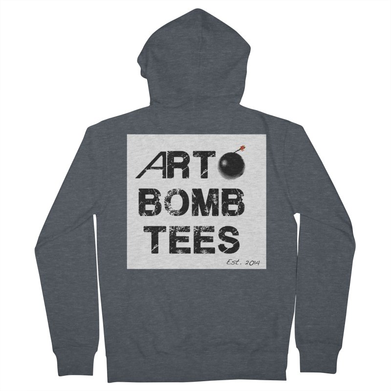 Art Bomb Tees Logo Shirt Women's Zip-Up Hoody by artbombtees's Artist Shop