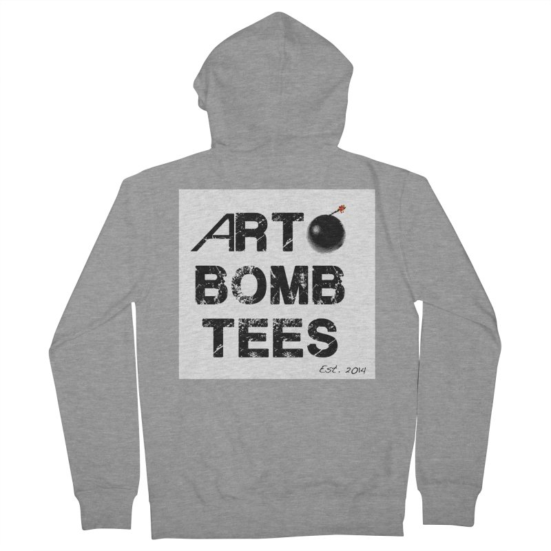 Art Bomb Tees Logo Shirt Women's Zip-Up Hoody by artbombtees's Artist Shop