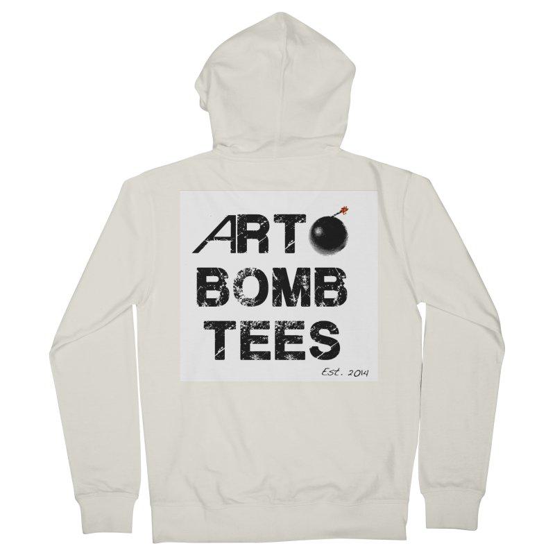 Art Bomb Tees Logo Shirt Men's Zip-Up Hoody by artbombtees's Artist Shop