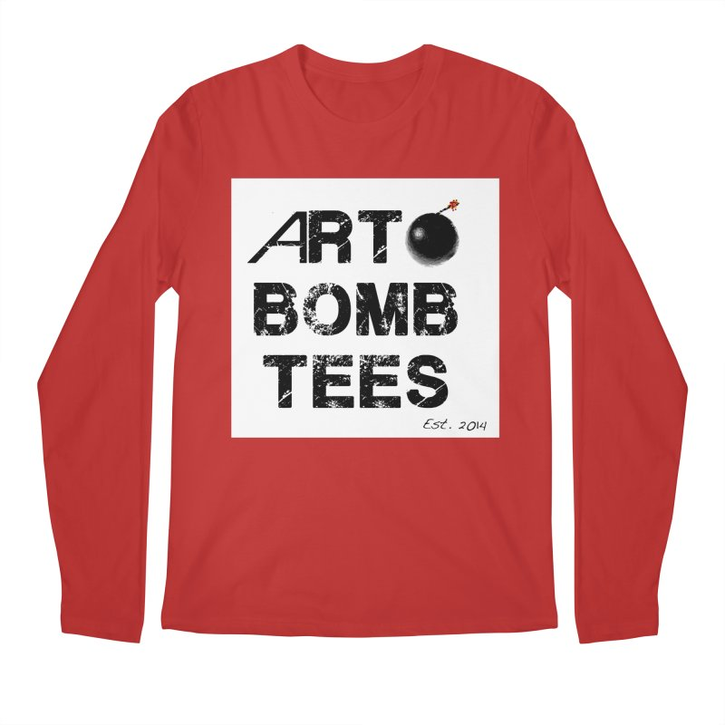 Art Bomb Tees Logo Shirt Men's Regular Longsleeve T-Shirt by artbombtees's Artist Shop