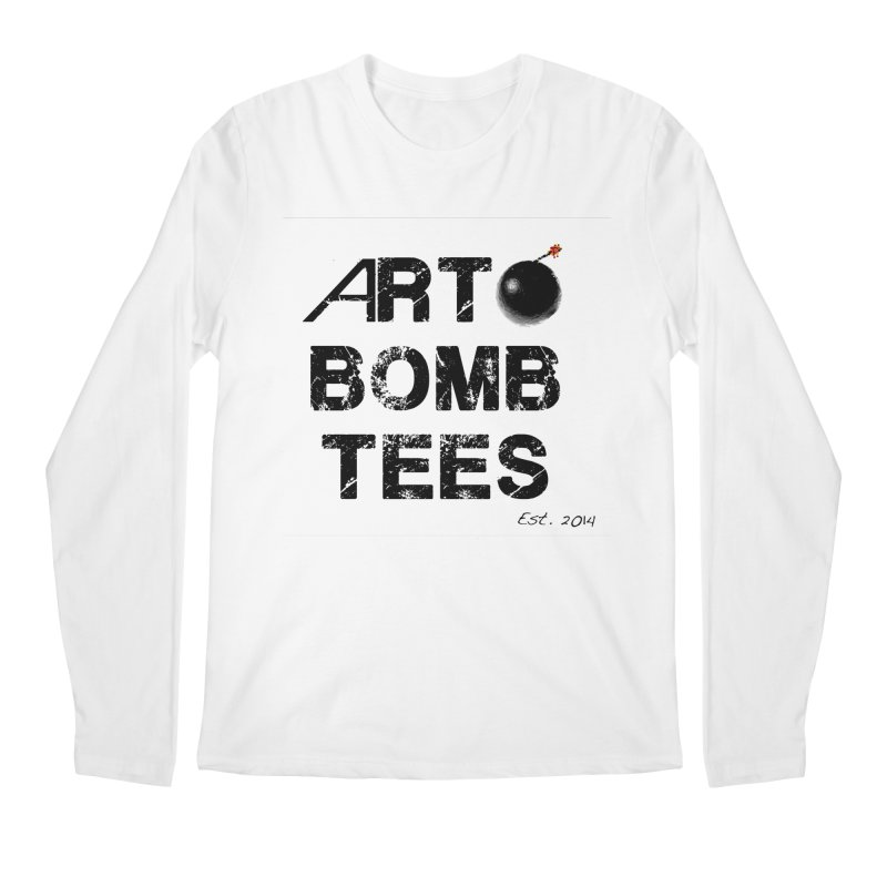 Art Bomb Tees Logo Shirt Men's Longsleeve T-Shirt by artbombtees's Artist Shop