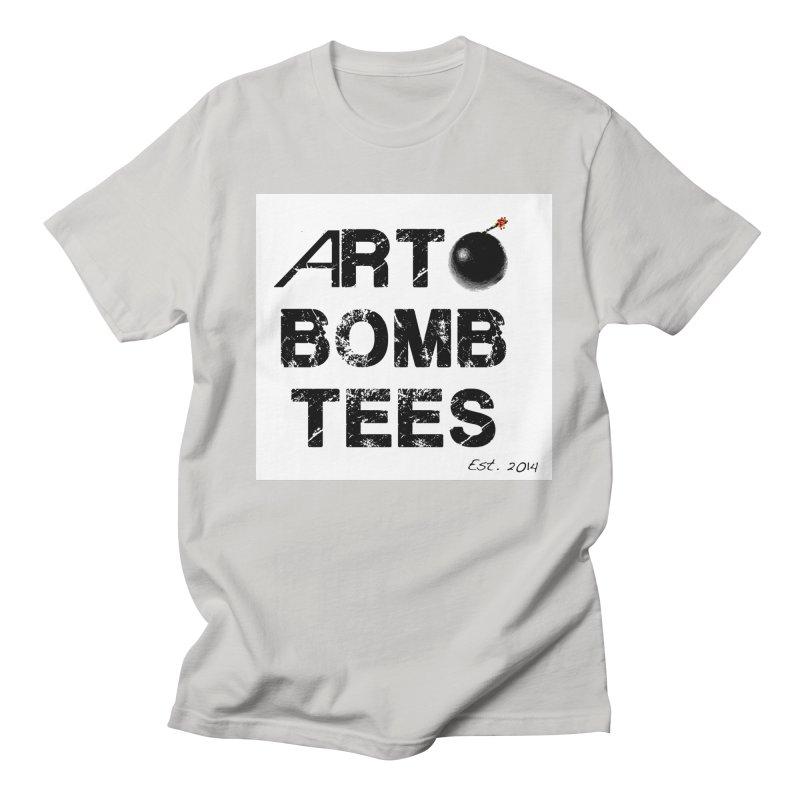 Art Bomb Tees Logo Shirt Men's T-Shirt by artbombtees's Artist Shop