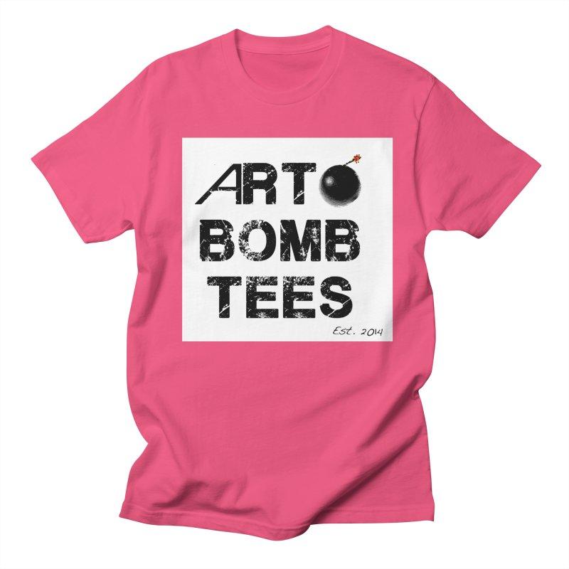 Art Bomb Tees Logo Shirt Men's Regular T-Shirt by artbombtees's Artist Shop