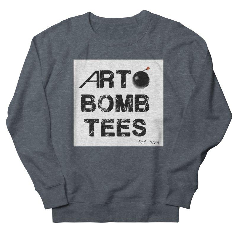 Art Bomb Tees Logo Shirt Men's French Terry Sweatshirt by artbombtees's Artist Shop