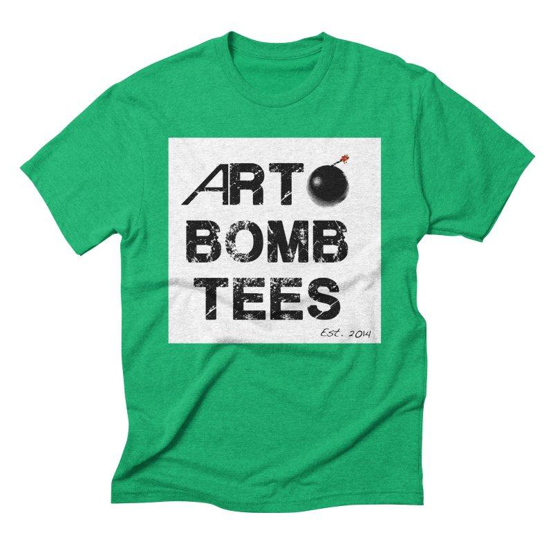 Art Bomb Tees Logo Shirt Men's Triblend T-Shirt by artbombtees's Artist Shop