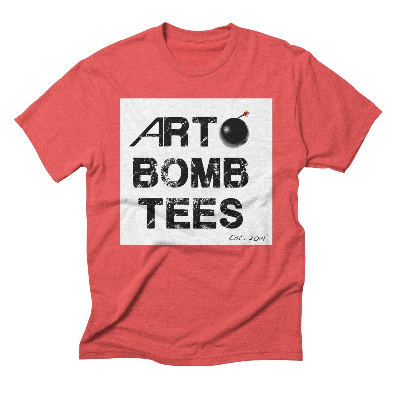 Art Bomb Tees Logo Shirt Men's Triblend T-Shirt by artbombtees's Artist Shop