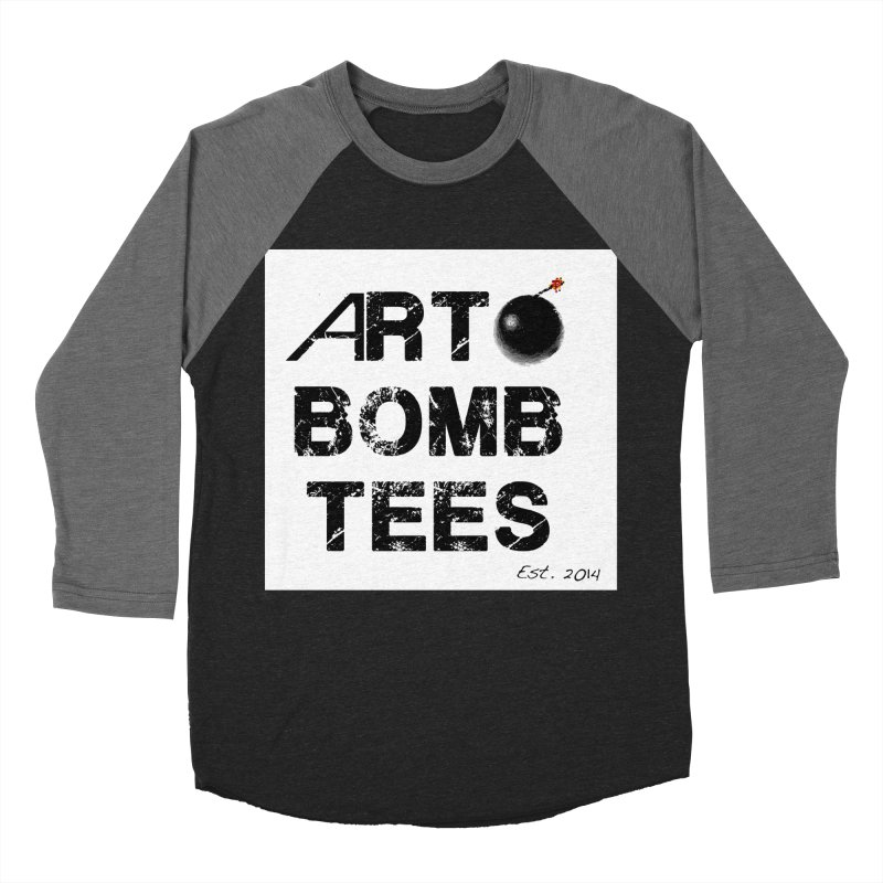 Art Bomb Tees Logo Shirt Women's Baseball Triblend T-Shirt by artbombtees's Artist Shop