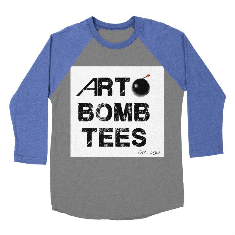 Art Bomb Tees Logo Shirt Men's Baseball Triblend Longsleeve T-Shirt by artbombtees's Artist Shop