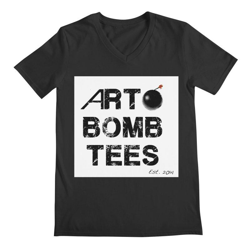 Art Bomb Tees Logo Shirt Men's V-Neck by artbombtees's Artist Shop