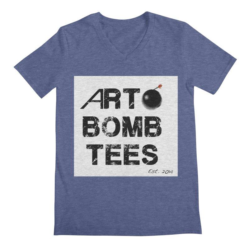 Art Bomb Tees Logo Shirt Men's Regular V-Neck by artbombtees's Artist Shop
