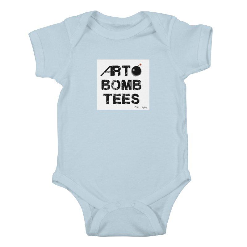Art Bomb Tees Logo Shirt Kids Baby Bodysuit by artbombtees's Artist Shop