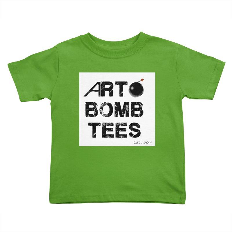 Art Bomb Tees Logo Shirt Kids Toddler T-Shirt by artbombtees's Artist Shop
