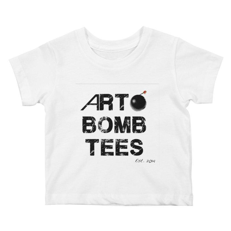 Art Bomb Tees Logo Shirt Kids Baby T-Shirt by artbombtees's Artist Shop