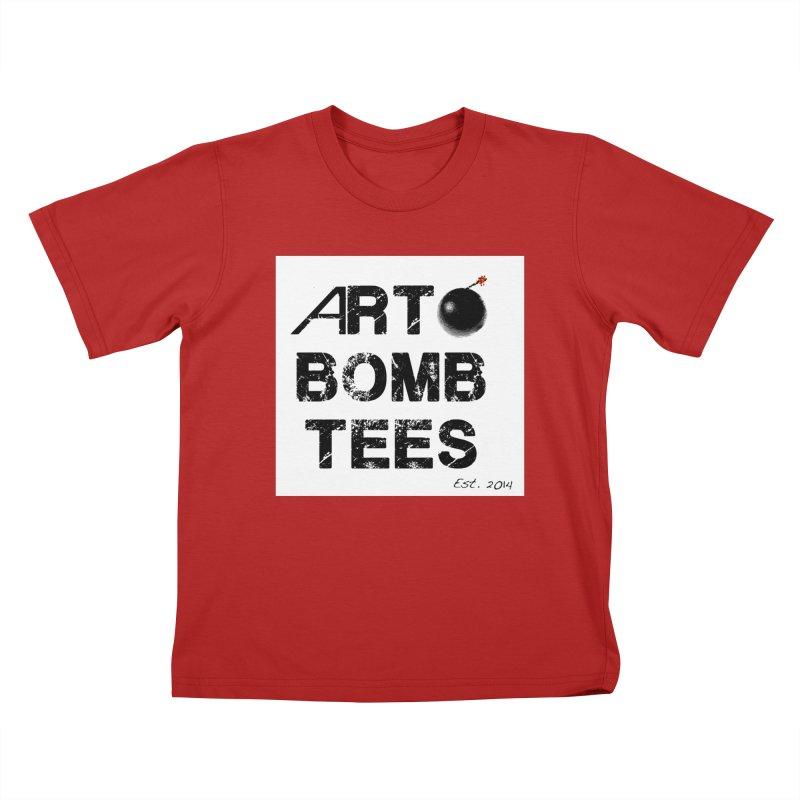 Art Bomb Tees Logo Shirt Kids T-shirt by artbombtees's Artist Shop