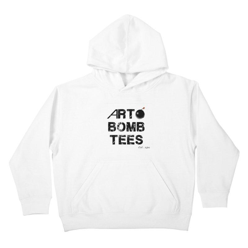 Art Bomb Tees Logo Shirt Kids Pullover Hoody by artbombtees's Artist Shop