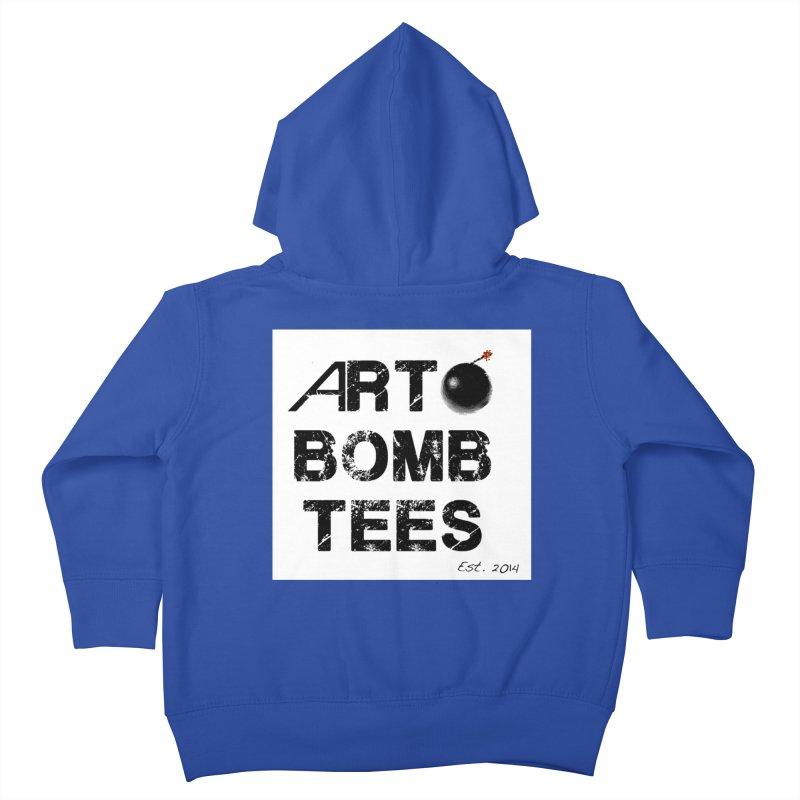 Art Bomb Tees Logo Shirt Kids Toddler Zip-Up Hoody by artbombtees's Artist Shop