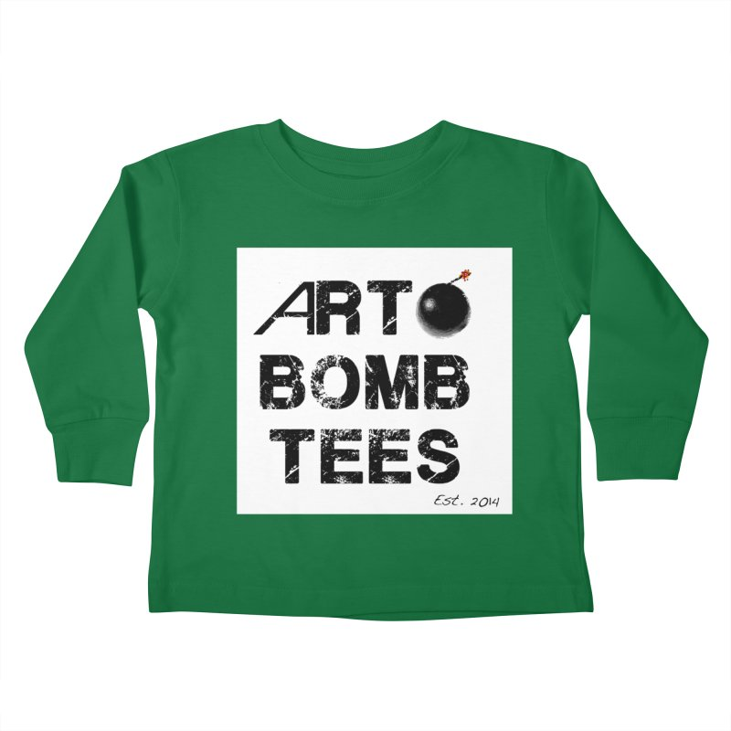 Art Bomb Tees Logo Shirt Kids Toddler Longsleeve T-Shirt by artbombtees's Artist Shop