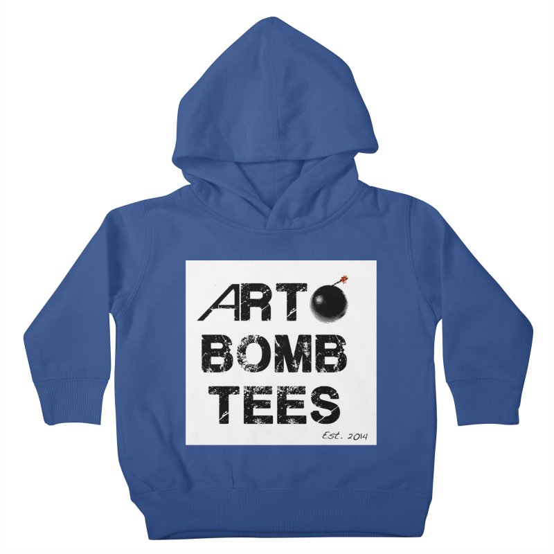 Art Bomb Tees Logo Shirt Kids Toddler Pullover Hoody by artbombtees's Artist Shop