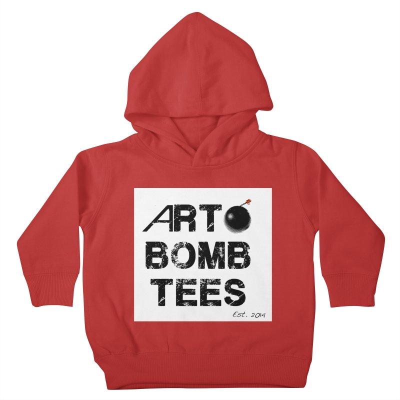 Art Bomb Tees Logo Shirt Kids Toddler Pullover Hoody by artbombtees's Artist Shop