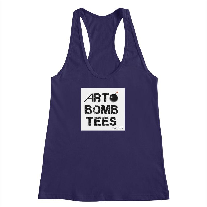 Art Bomb Tees Logo Shirt Women's Racerback Tank by artbombtees's Artist Shop