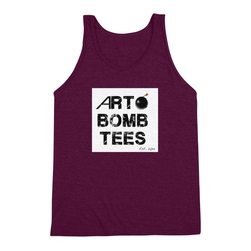 Art Bomb Tees Logo Shirt Men's Triblend Tank by artbombtees's Artist Shop