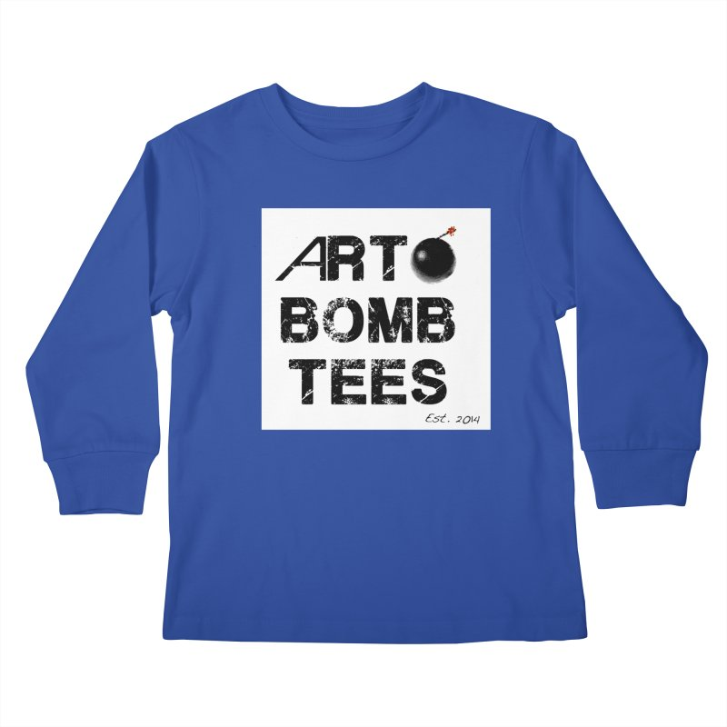 Art Bomb Tees Logo Shirt Kids Longsleeve T-Shirt by artbombtees's Artist Shop