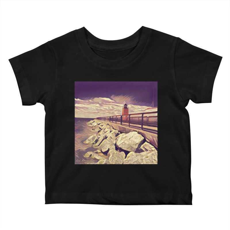 The Lighthouse Kids Baby T-Shirt by artbombtees's Artist Shop