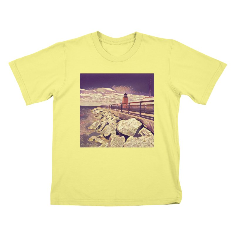 The Lighthouse Kids T-shirt by artbombtees's Artist Shop