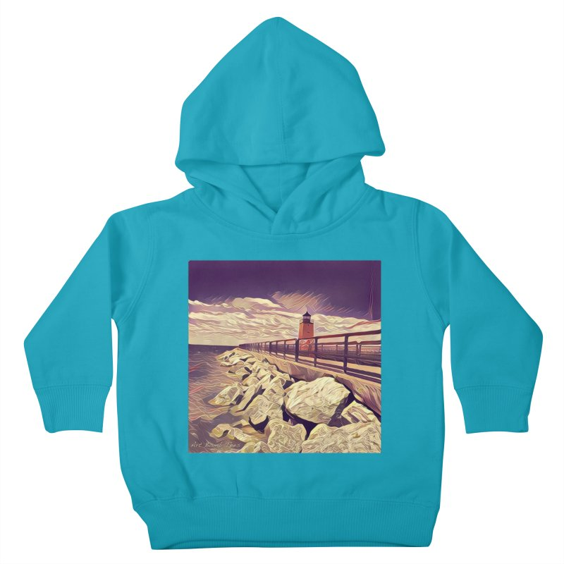 The Lighthouse Kids Toddler Pullover Hoody by artbombtees's Artist Shop
