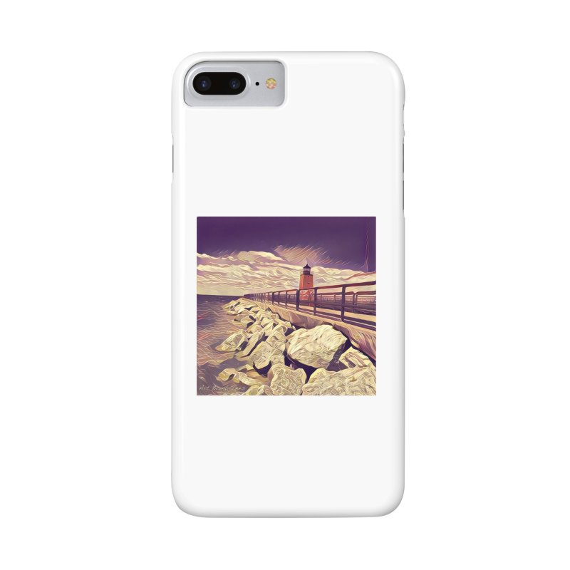 The Lighthouse Accessories Phone Case by artbombtees's Artist Shop