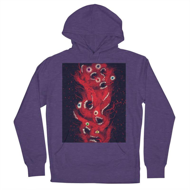 Anxiety Women's French Terry Pullover Hoody by artbombtees's Artist Shop