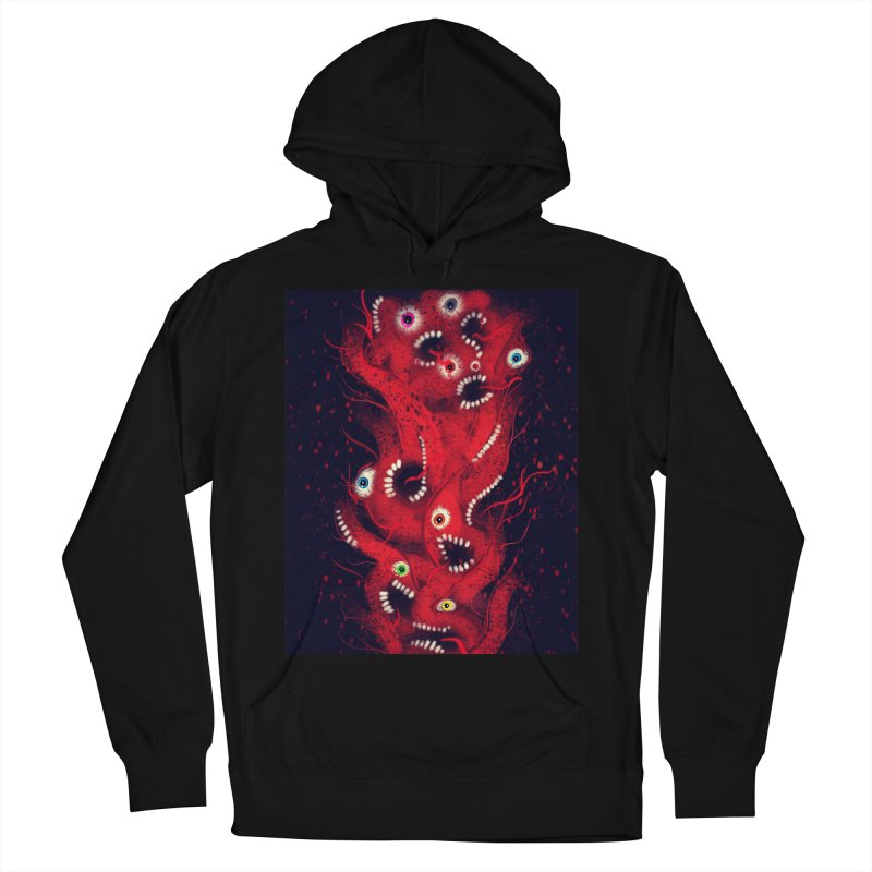 Anxiety Men's French Terry Pullover Hoody by artbombtees's Artist Shop