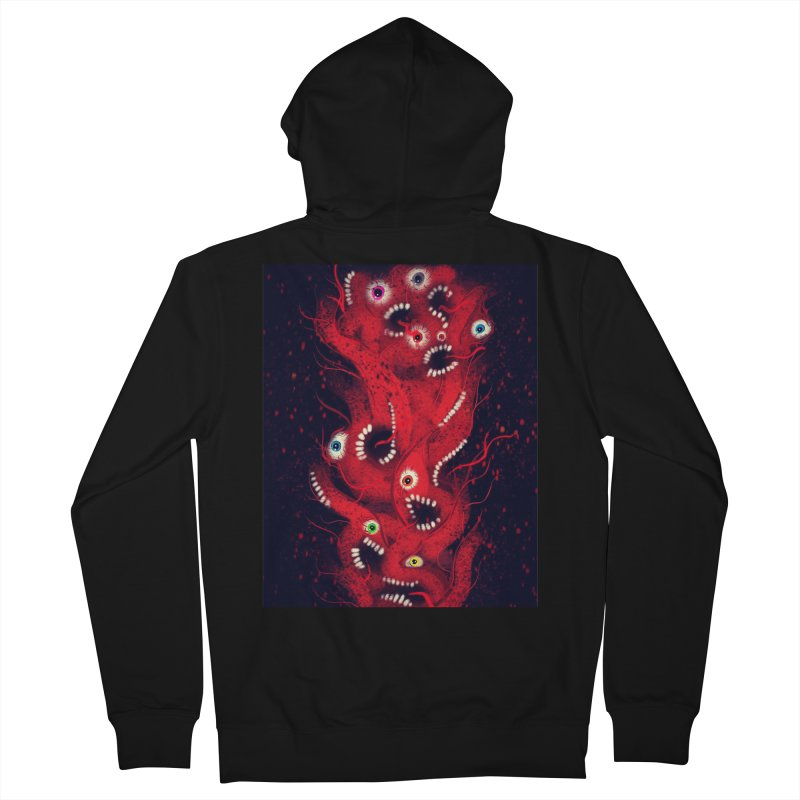 Anxiety Women's Zip-Up Hoody by artbombtees's Artist Shop