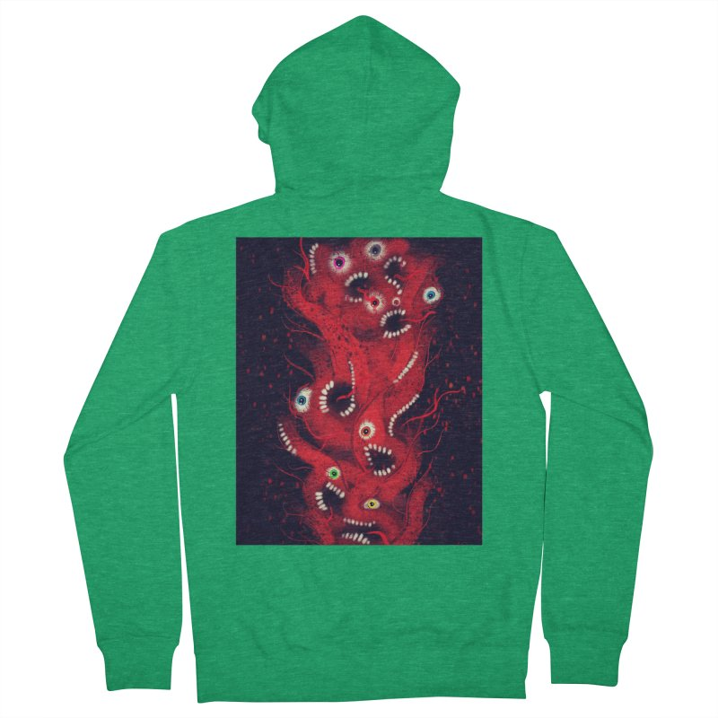 Anxiety Men's Zip-Up Hoody by artbombtees's Artist Shop