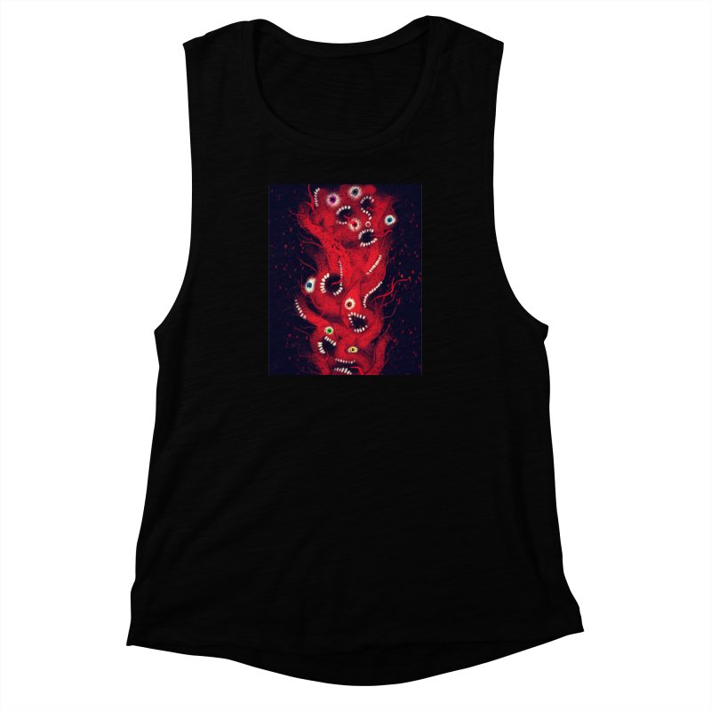 Anxiety Women's Muscle Tank by artbombtees's Artist Shop