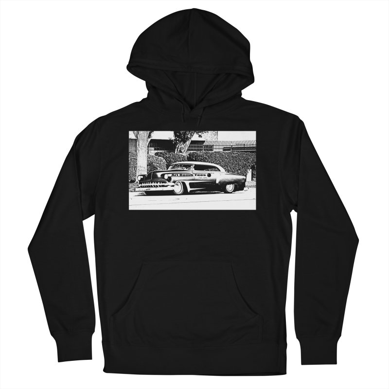 Getaway Car Men's French Terry Pullover Hoody by artbombtees's Artist Shop