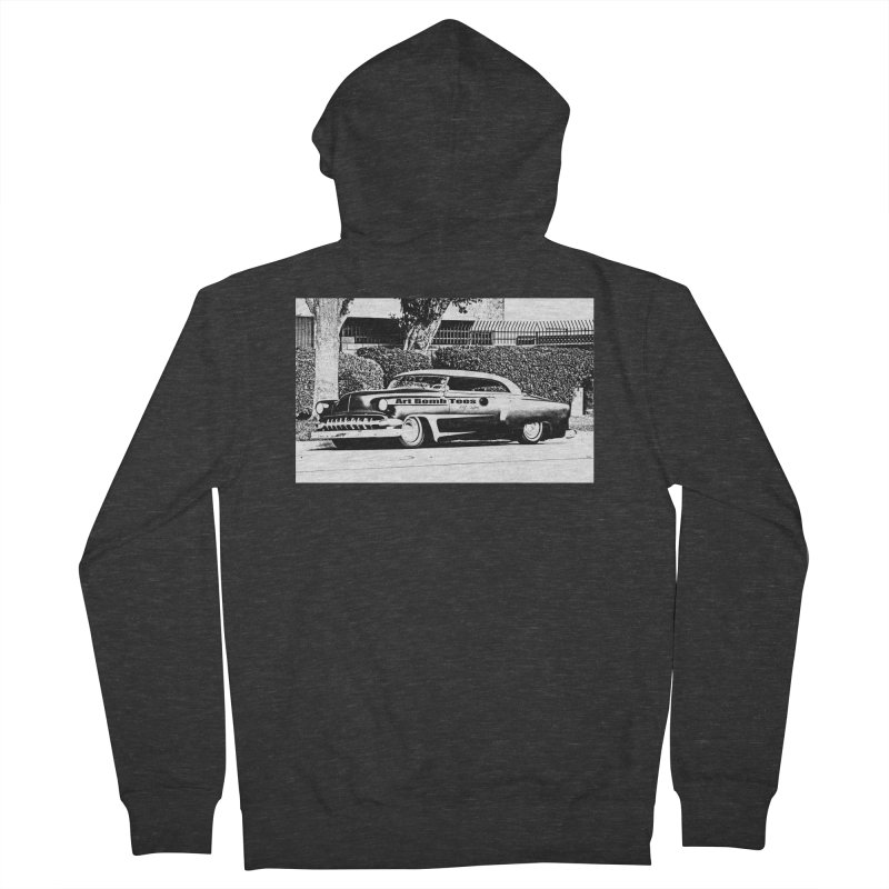 Getaway Car Women's French Terry Zip-Up Hoody by artbombtees's Artist Shop