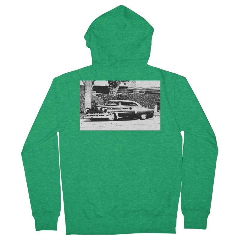 Getaway Car Men's French Terry Zip-Up Hoody by artbombtees's Artist Shop