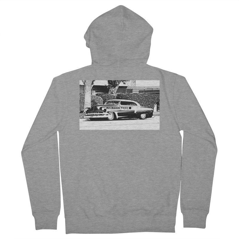 Getaway Car Men's French Terry Zip-Up Hoody by artbombtees's Artist Shop