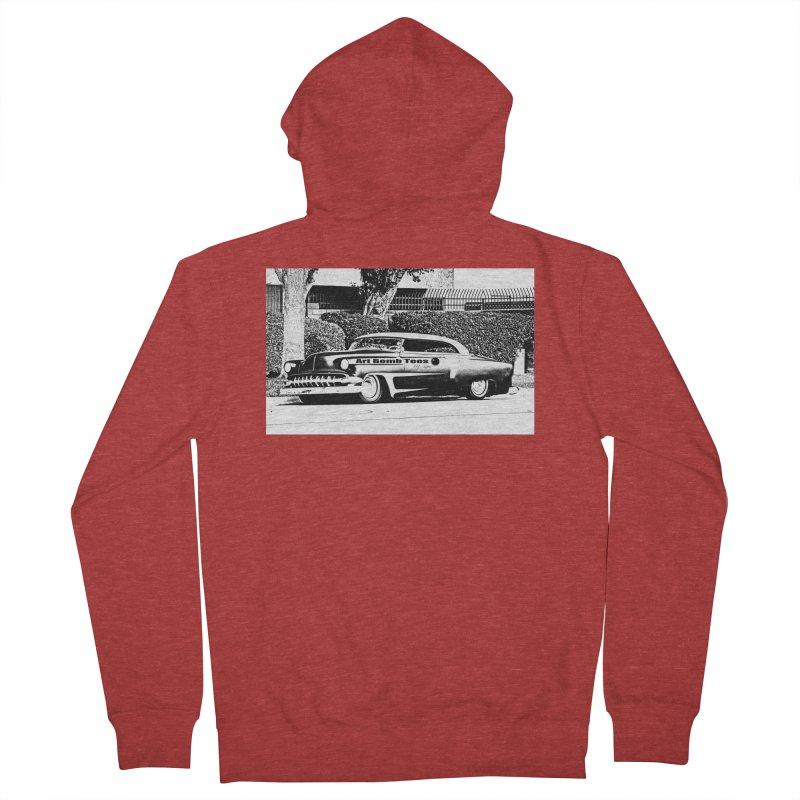 Getaway Car Men's Zip-Up Hoody by artbombtees's Artist Shop