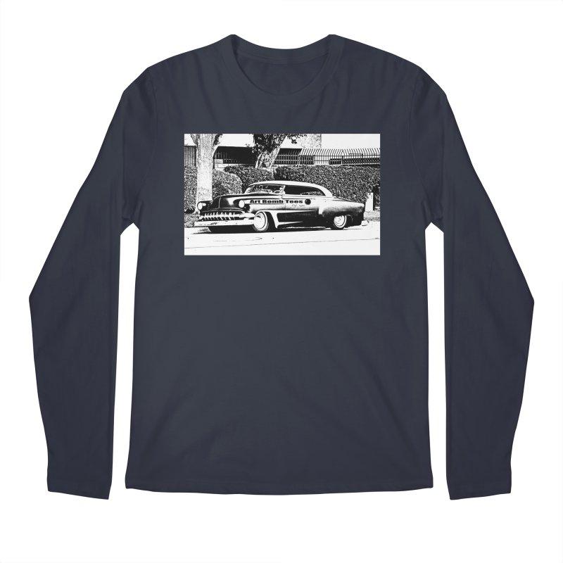 Getaway Car Men's Regular Longsleeve T-Shirt by artbombtees's Artist Shop