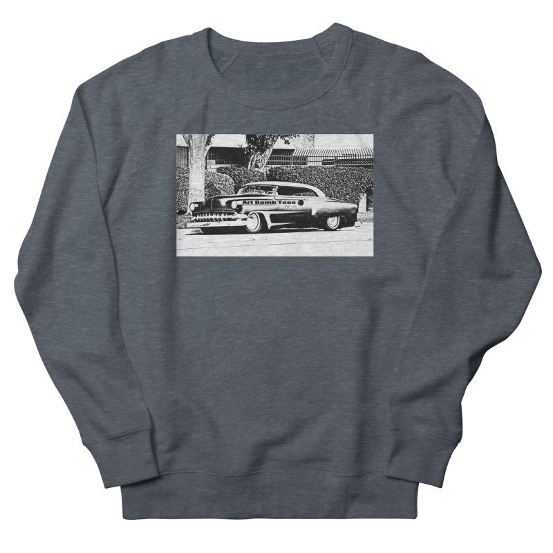 Getaway Car Men's French Terry Sweatshirt by artbombtees's Artist Shop