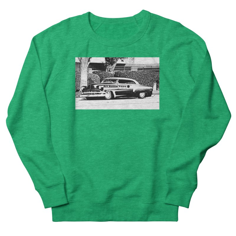 Getaway Car Men's French Terry Sweatshirt by artbombtees's Artist Shop