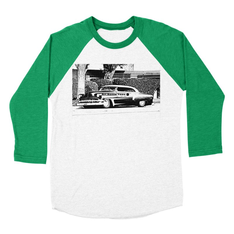 Getaway Car Women's Baseball Triblend Longsleeve T-Shirt by artbombtees's Artist Shop